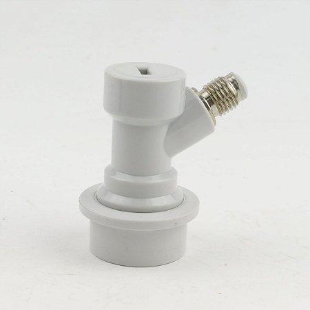 """Conector Ball-Lock para gás, rosca 7/16"""""""