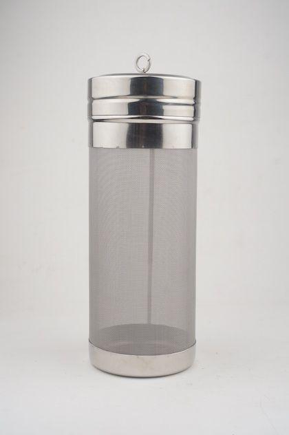 Filtro cilíndrico c/ tampa, 300 micra, Ø70x180mm