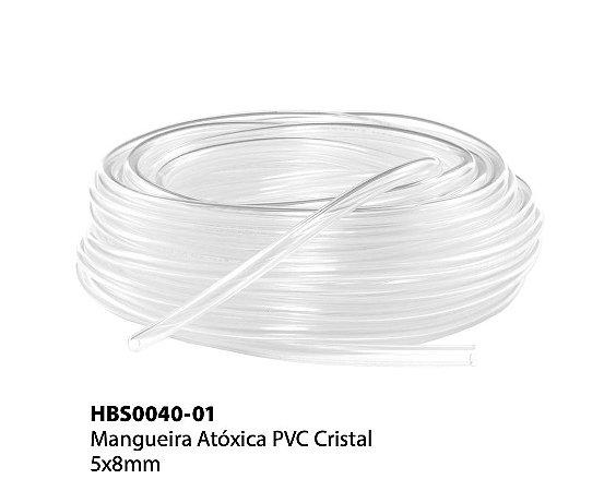 Mangueira Atóxica PVC Cristal 5x8mm