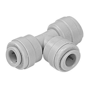 """ATU060606 - Conexão rápida união Tê tubo 3/8"""" x 3/8"""" x 3/8"""""""