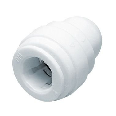 "ATES06 - Conexão rápida tubo cego (TUBE STOP) 3/8"""