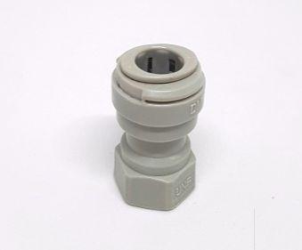"""AFAUF057/16V - Conexão rápida rosca fêmea 7/16-20UNF(V) x tubo 5/16"""""""
