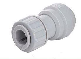 """APSUC0604 - Conexão rápida união Inox 1/4"""" x tubo 3/8"""""""