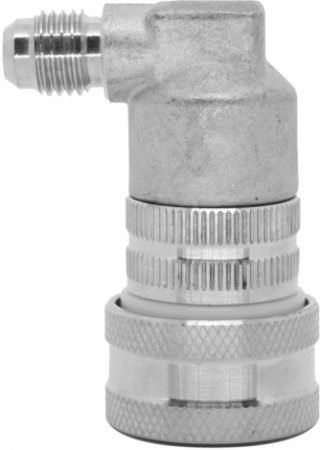 """Conector Ball Lock Inox Gas - Rosca  7/16"""""""