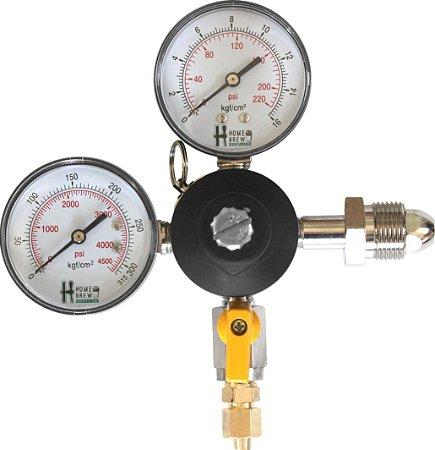 Reguladora de Pressão para N2 - 1 via