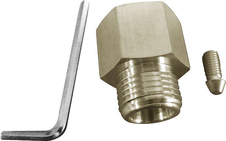 Kit para encher cilindros CO2 rosca macho CGA320 + femea 6ACME