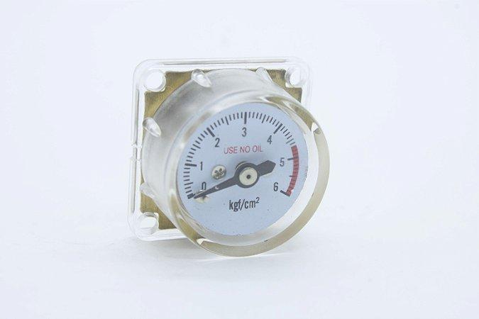 Manômetro de Baixa para Mini Reguladoras Profissionais de CO2 Chope