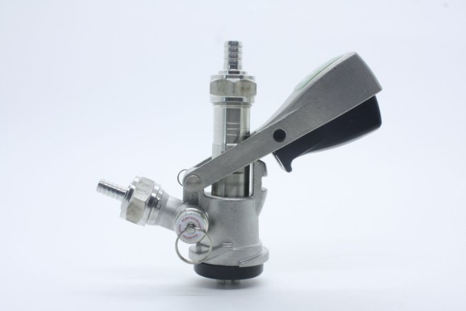 Extratora Tipo S - Botão - INOX -  Completa