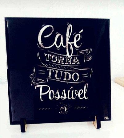 Azulejo - café torna tudo possível