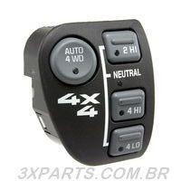 Botão Interruptor da Tração Chrysler S10 e Blazer 4x4
