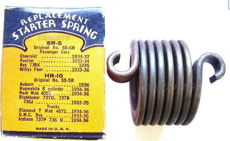 Mola do motor de partida Ford 1928 a 1953