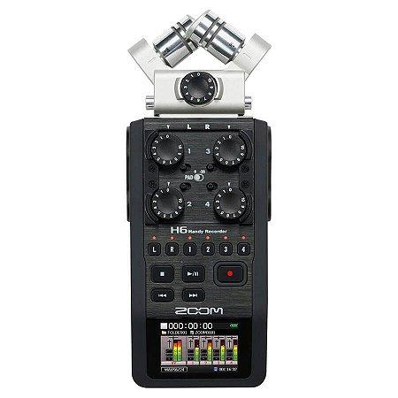 Gravador Digital Zoom H6