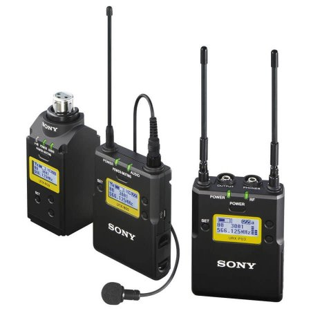 Microfone de lapela sem fio Sony UWP-D16
