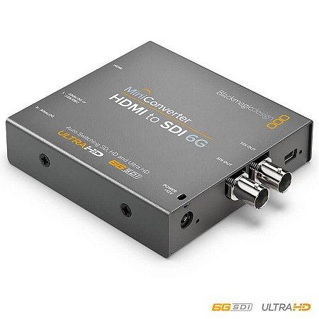 Blackmagic MiniConversor HDMI para SDI 6G