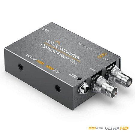 Blackmagic MiniConversor Fibra Ótica 12G