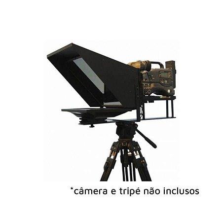 "Teleprompter Project Telecom Para Estúdio 19"" LED"