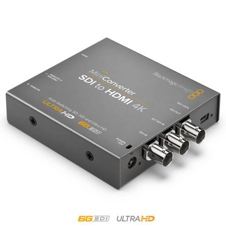 Blackmagic MiniConversor SDI para HDMI 4K