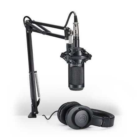 Audio Technica Kit Streaming e Podcasting AT 2035 PK