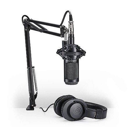 Audio Technica Kit Streaming e Podcasting AT 2035 PK