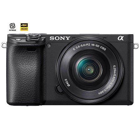 Sony Alpha a6400 com Lente 16-50mm