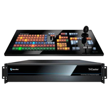 TriCaster TC410 Plus e Controladora TC1SP