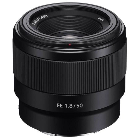 Lente Sony FE 50mm f/1.8 SEL50F18F