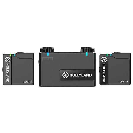 Hollyland LARK 150 Sistema de Microfone Sem Fio Dual