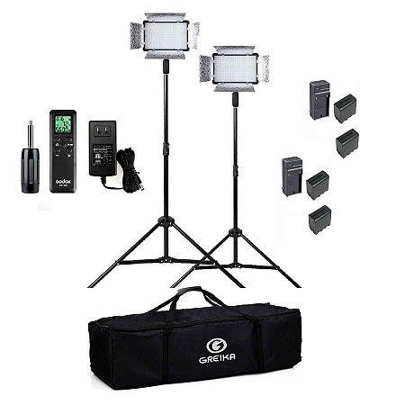 Kit de Iluminação Godox LED 500LRC