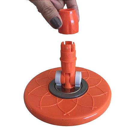 Base Mop Porta Esfregão Spin and Go 360 Padrão USA Linha Pró Marca Official FlexMop®