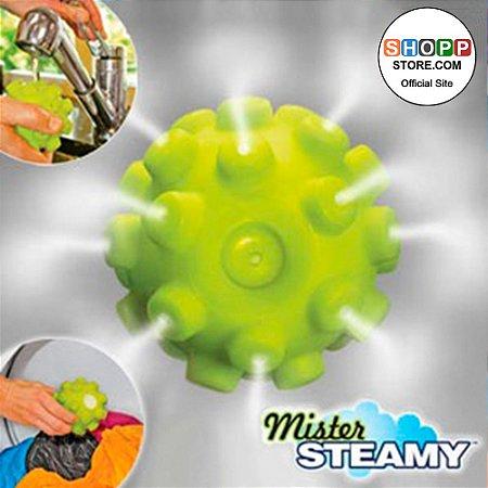 Esferas Antiamassamento de Roupas Eliminadora de Rugas Mister Steamy®