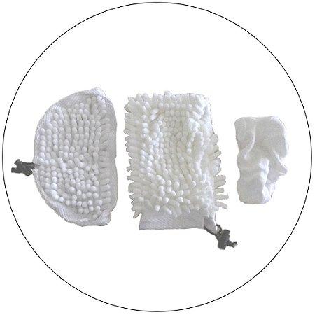 Refil Vaporizador H2O Mop X5® (Conjunto Janela, Roupa e Pó)