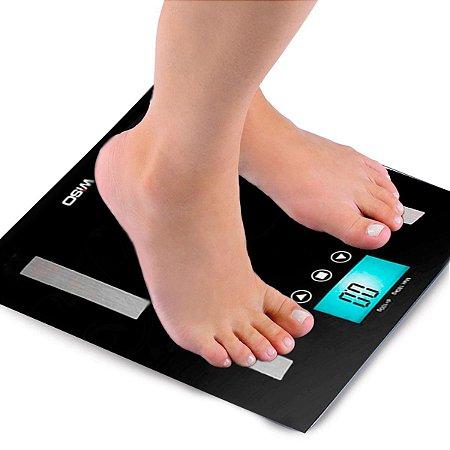 Balança de Bioimpedância Digital Analisador Corporal até 180 kg Marca: Wiso W905