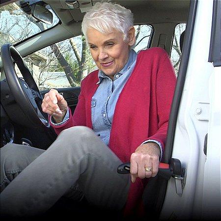 Suporte de Apoio p/Carros Portátil p/Ajudar Idosos Pessoas com Dificuldades/Reabilitação Car Handle®