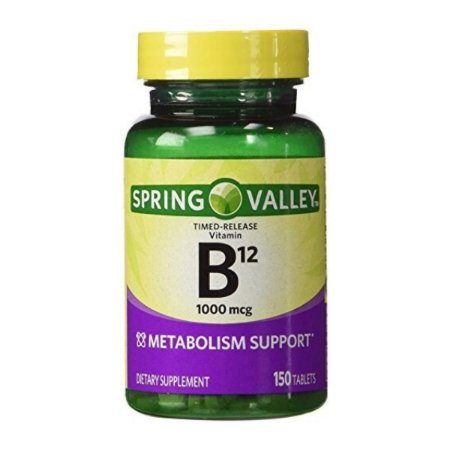 Vitamina B12 1000 mcg 150 tablets Spring Valley®