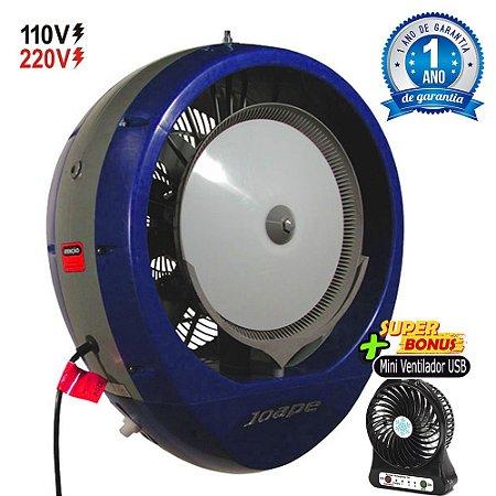 Climatizador Cassino 2019 Econômico/Potente Consumo 160W Fluxo Ar 2.760m³/h Marca:Joape Cor Azul