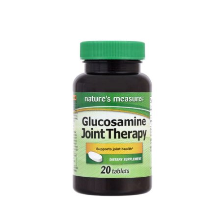 Glucosamina Joint Therapy 20 Tablets Natures Measure®