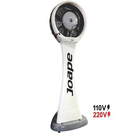 Climatizador Cassino Pedestal 2019 Econômico/Potente 160W Fluxo Ar 2.760m³/h Marca:Joape Cor Branco