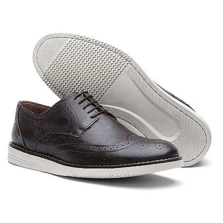 Sapato Casual Oxford Fossil Café 206