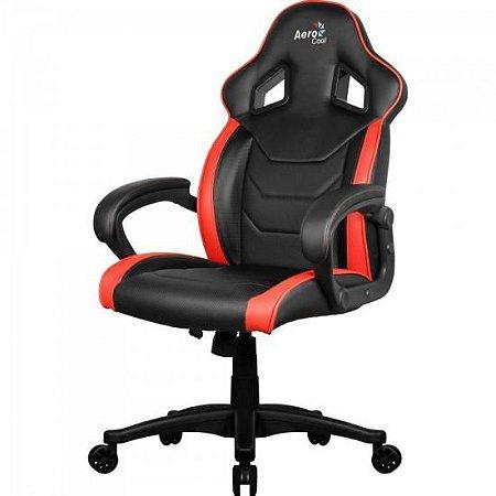 Cadeira Gamer AC60C AIR EN57730 Preto/Vermelho AEROCOOL
