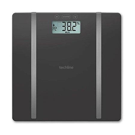 Balança de Bioimpedância Digital Analisador Corporal 180 kg TechLine By Shoppstore®