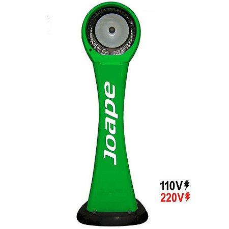 Climatizador Cassino Pedestal 2019 Econômico/Potente 160W Fluxo Ar 2.760m³/h Marca:Joape Cor Verde