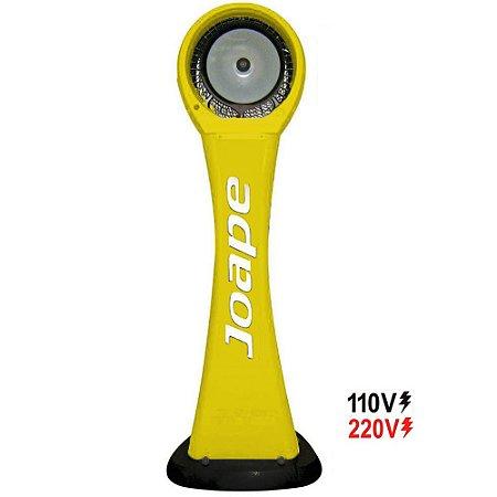 Climatizador Cassino Pedestal 2019 -100lts Econômico/Potente 160W Fluxo Ar 2.760m³/h Marca:Joape Cor Amarelo