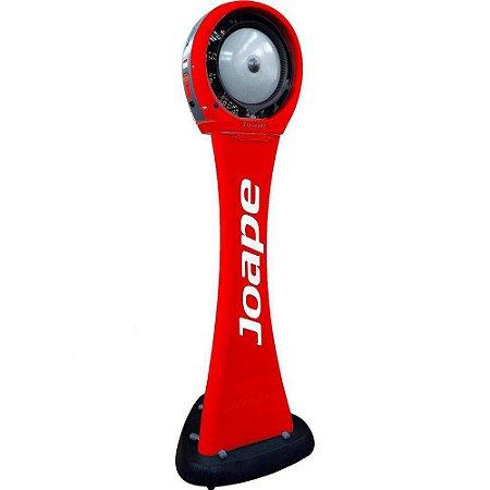 Climatizador Cassino Pedestal 2020-80lts Joape by Shoppstore Econômico/Potente Fluxo Ar 2.760m³/h Cor Vermelho