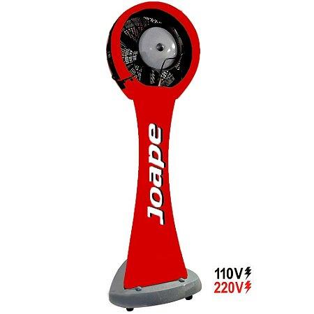 Climatizador Pedestal 100lt Guarujá Mod.2020 Joape by Shoppstore Econômico/Potente 230W Fluxo12.000m³/h Vermelho