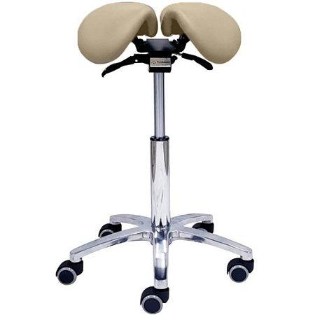Cadeira Mocho Sela 2021 Ortodontista Bi-Partido Fisiomed by Shoppstore Redutor Pressão Ciático