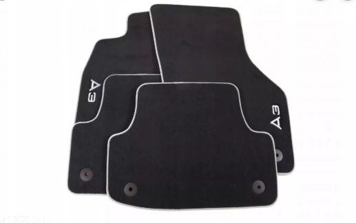 Jogo de Tapetes Premium Floor Mats - A3 Sedan 2013 / 2020 - A3 Sportback 2013 / 2020