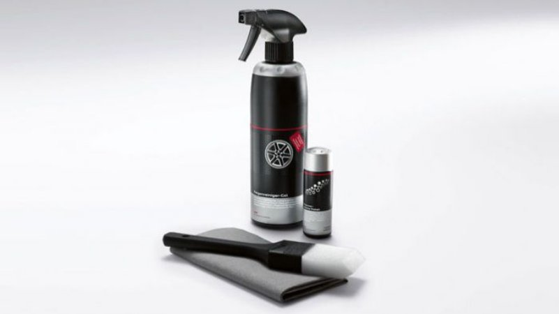 Kit de Limpeza e Cuidado de Rodas