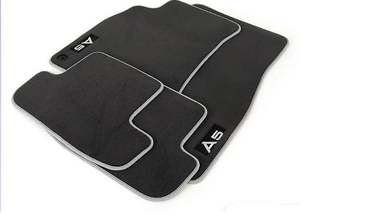 Tapetes Dianteiros - Premium Floor Mats - A5 Cabriolet 2010 2017 - A5 Coupe 2008 2016 - A5 Sportback - RS 5 Coupé 2010 2016