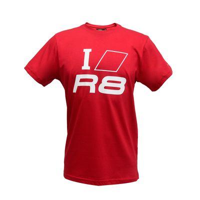 Camiseta Masculina I Love You R8  Audi Sport