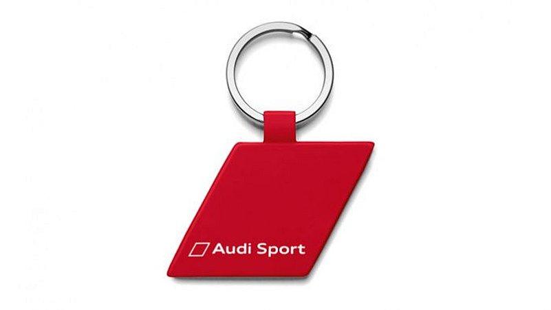 Chaveiro Red Rhombus Audi Sport